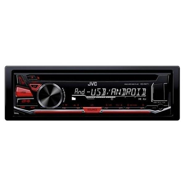 RADIO CD PLAYER 4X50W KD-R471 JVC
