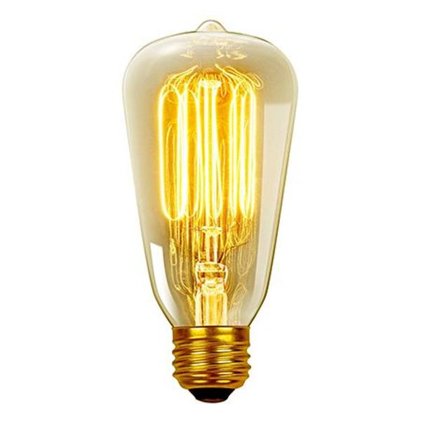 BEC E27 CU FILAMENT LED 8W 2200K ST64 MODEL EDISON