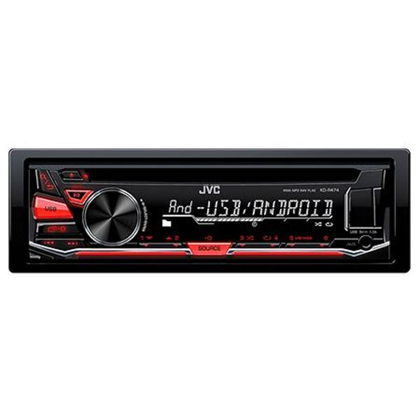 RADIO CD PLAYER KD-R474 JVC