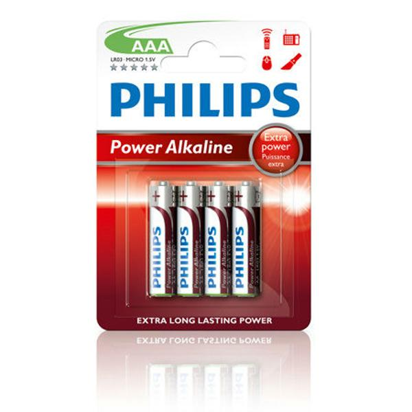 BATERIA PHILIPS LR03 POWERLIFE BLISTER 4BUC