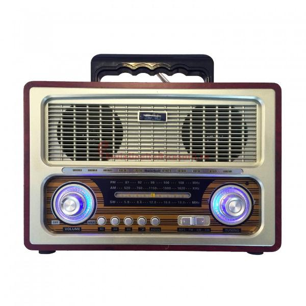 Radio portabil retro, MP3, BT, 3 benzi RRT 3B