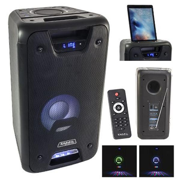 BOXA PORTABILA 8 inch/20CM 150W RMS CU USB/SD/BLUETOOTH FREESOUND300