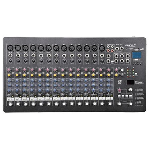 MIXER 16 CANALE PHANTOM 48V CU PLAYER USB, BST