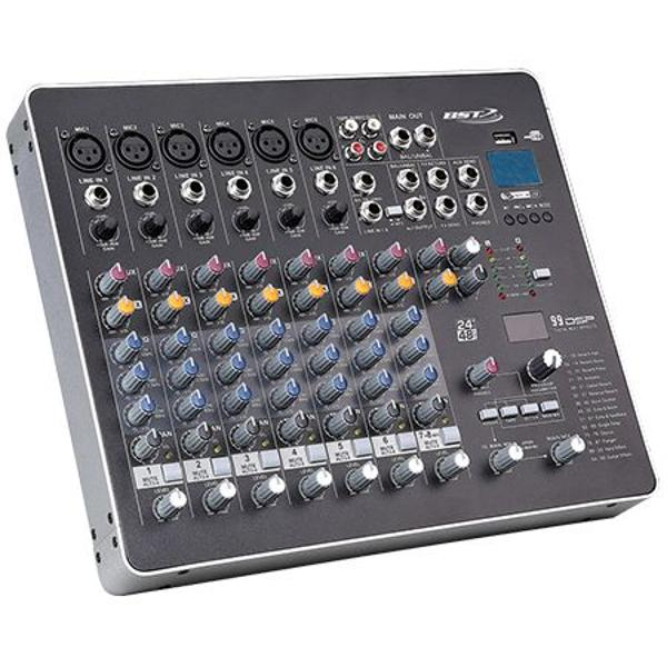 MIXER 8 CANALE PHANTOM 48V CU PLAYER USB, BST