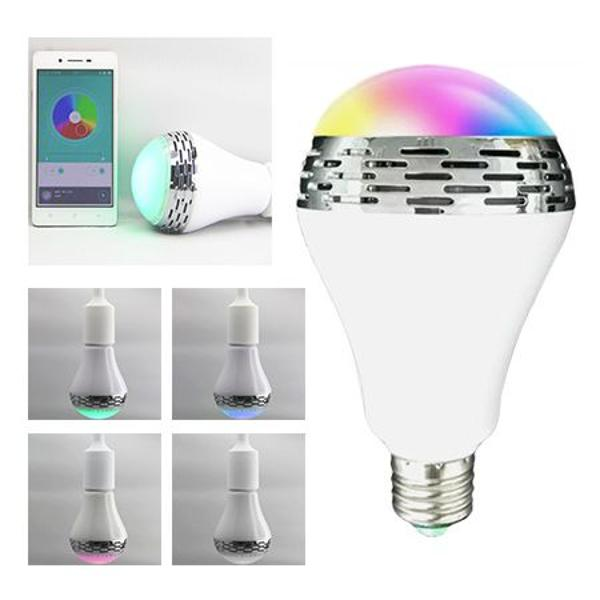 BEC LED E27 5W RGB SMART CU DIFUZOR 2W INCORPORAT SI BLUETOOTH