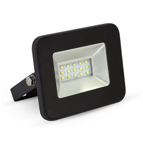 REFLECTOR LED SMD 10W 4500K IP65 EXTRA SLIM NEGRU
