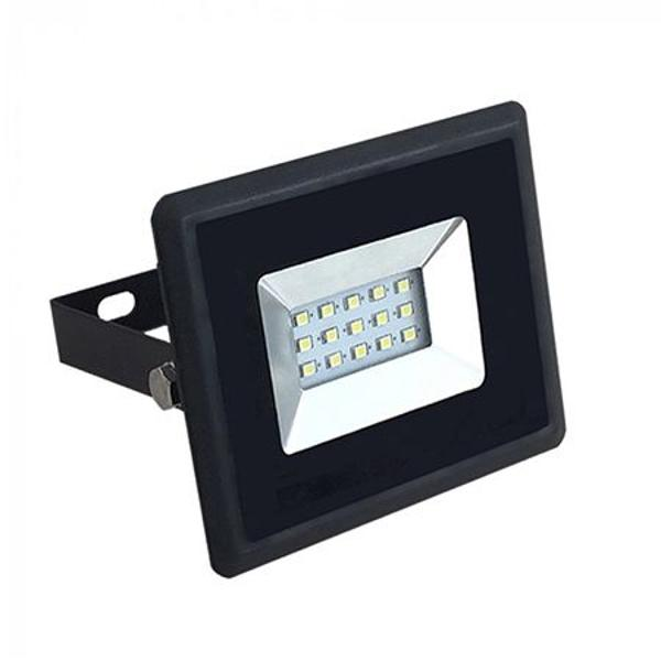 REFLECTOR LED SMD 10W 6000K IP65 NEGRU