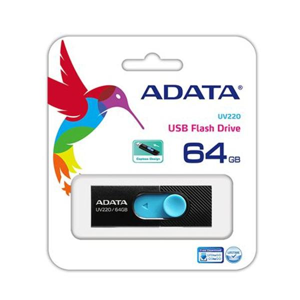 FLASH DRIVE USB 3.0 64GB UV220 ADATA