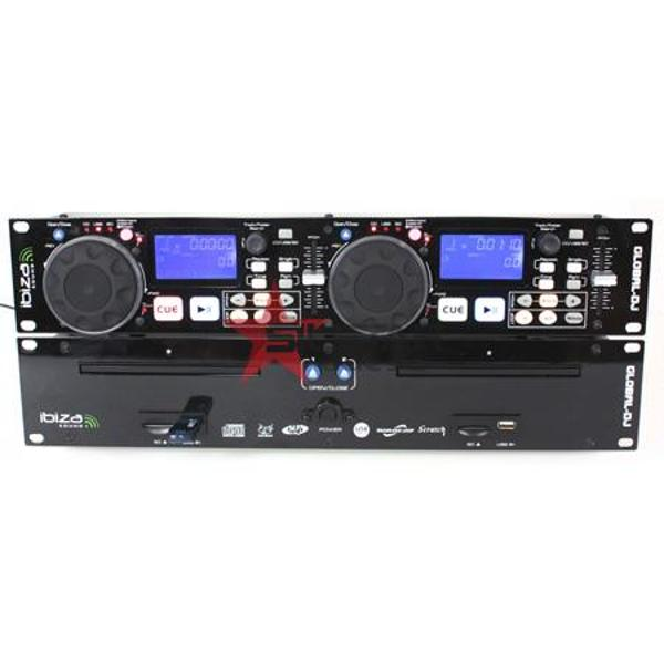 Dual Cd -Mp3/Usb/Sd Player+ Scratch