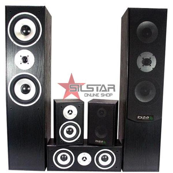 Incinte HI-FI Home Cinema Negru-E1004BL