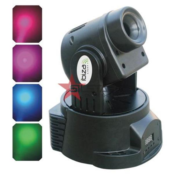 MOVING HEAD LED RGB WASH LIGHT DMX-LMH302LED
