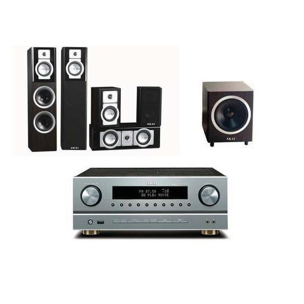 Sistem Home Cinema Akai AS005RA-750/SS006A-305