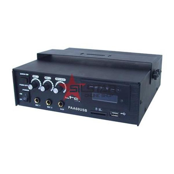 Amplificator Linie PA 60W cu USB/SD-MP3-PAA60USB