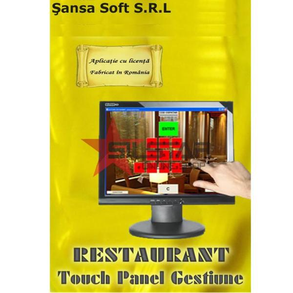Restaurant-Touch Panel Gestiune