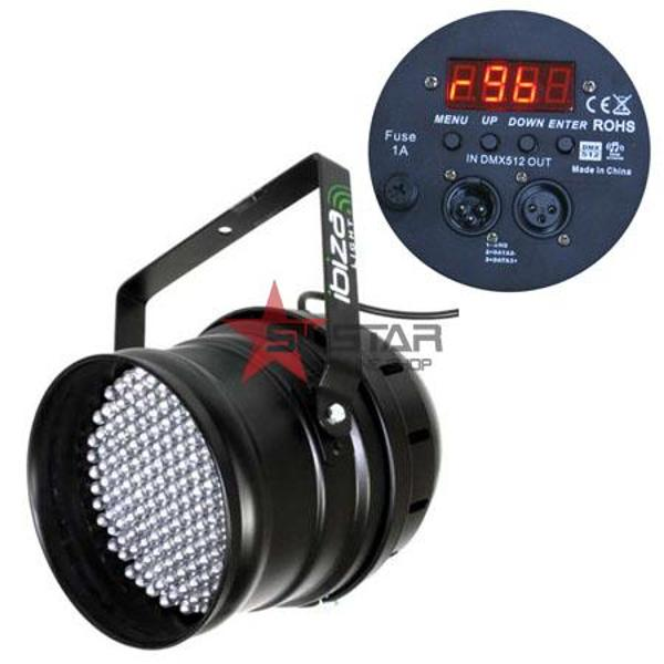Led Par 64 DMX 10MM X 177 Led-uri-LP64LED-PROMO