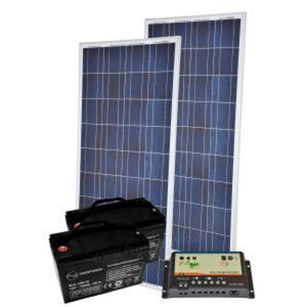 Stand Alone 260W/24V Kit Photovoltaic - Code: KIT260STAND24V