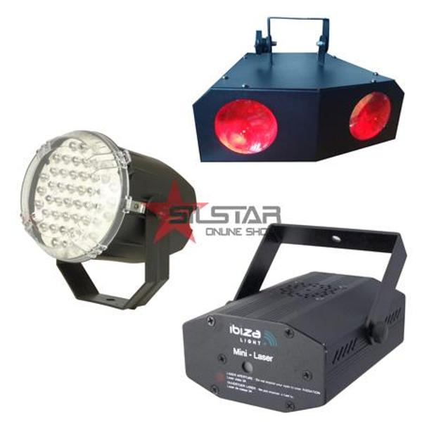 SET HOME LIGHTING (LASER+STROBOSCOP+MOON LED)-NIGHT+LIGHT