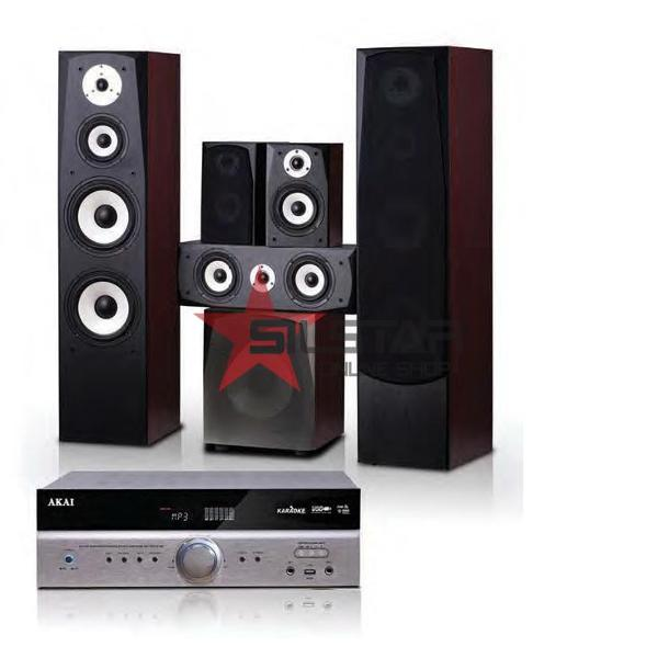 Sistem Home Cinema AKAI AS115RA-6136/SS120A-6688