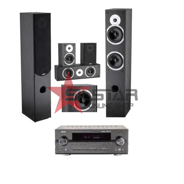 Sistem Home Cinema Akai AS008RA-6100/SS014A-265