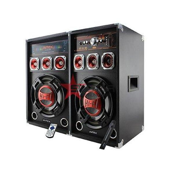 Set 2 boxe cu amplificare si MP3 Intex DJ215