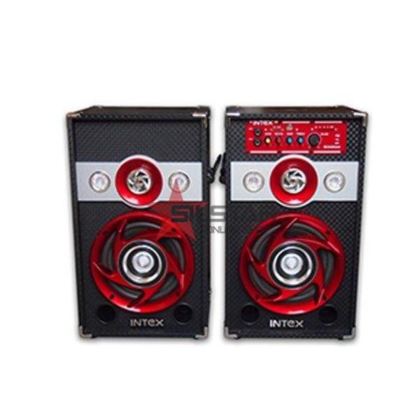 Set 2 boxe cu amplificare si MP3 Intex DJ601