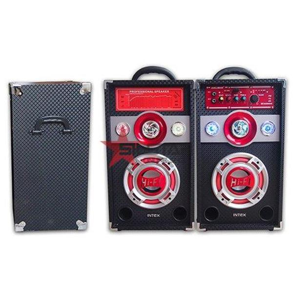 Set 2 boxe cu amplificare si MP3 Intex DJ600