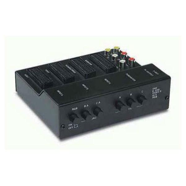 ADAPTOR CONECTARE AUDIO/VIDEO 4SCART+6RCA