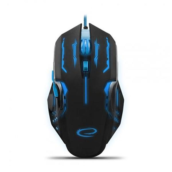 MOUSE OPTIC USB GAMING ALBASTRU