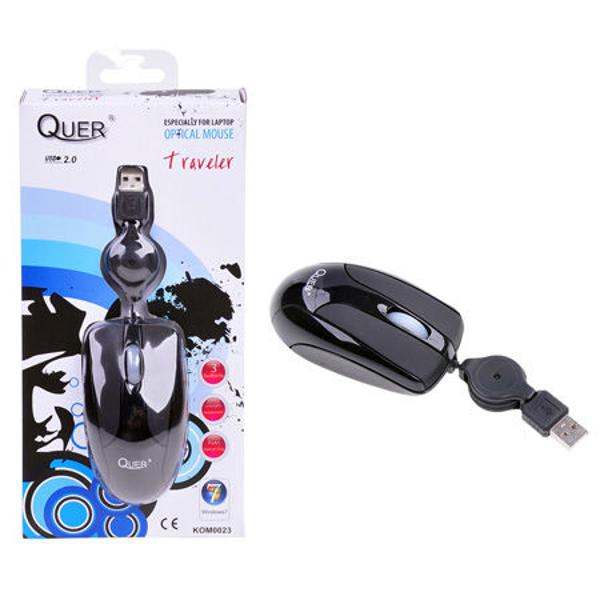 MOUSE OPTIC QUER MODEL TRAVELER (USB)