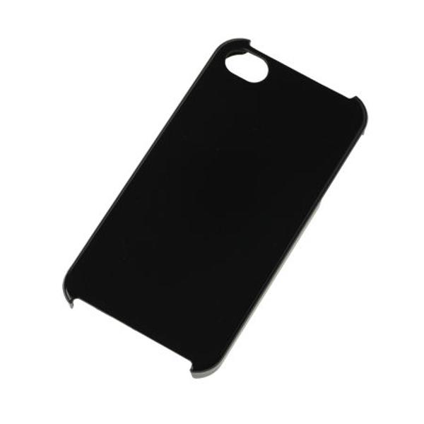 BACK COVER CASE IPHONE 4 NEGRU