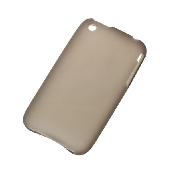 BACK COVER CASE IPHONE 3G/S NEGRU