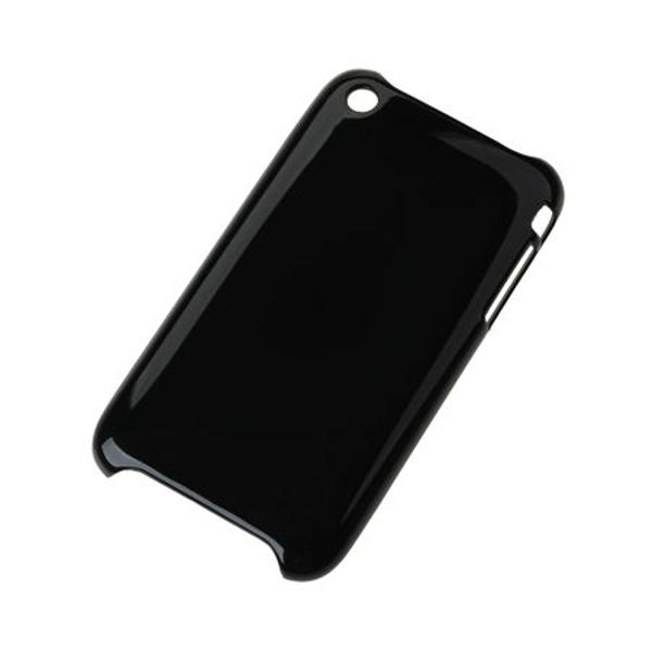 BACK COVER CASE IPHONE 3G/3GS NEGRU