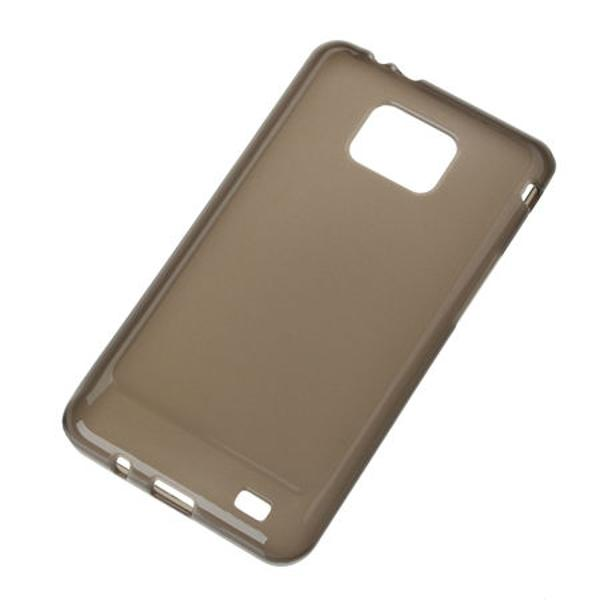 BACK COVER CASE SAMSUNG GALAXY S2 NEGRU