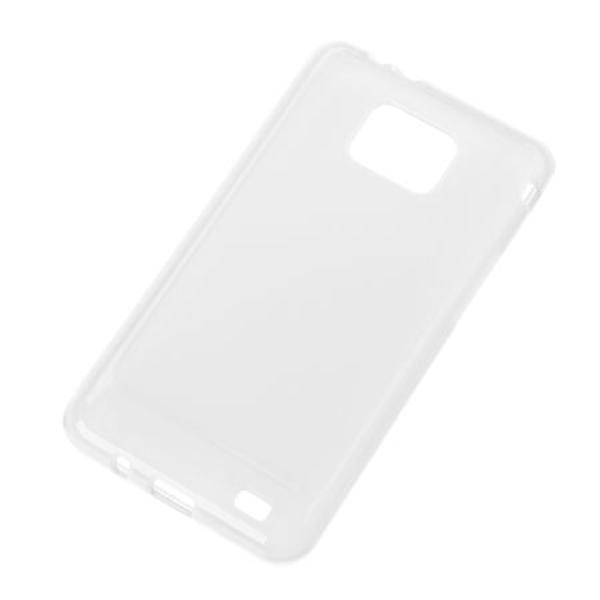 BACK COVER CASE SAMSUNG GALAXY S2 TRANSPARENT