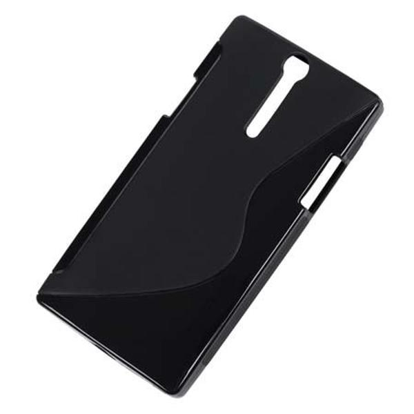 HUSA BACK COVER CASE SONY XPERIA S M-LIFE NEG