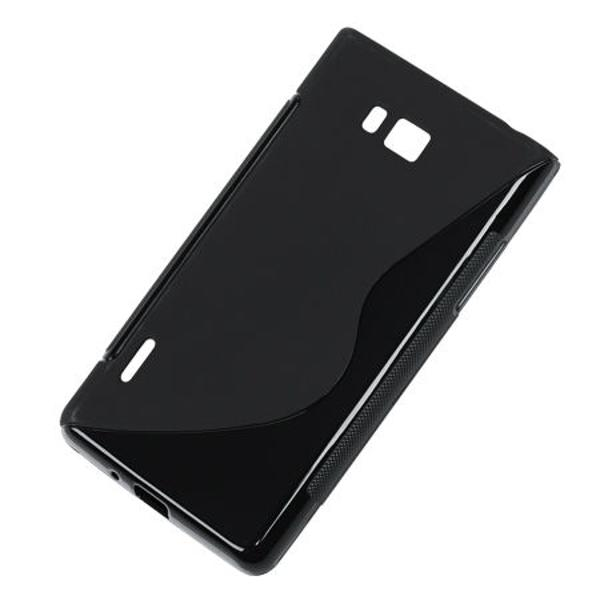 BACK COVER CASE LG L7 NEGRU