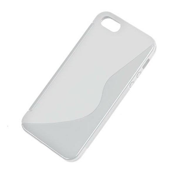 BACK COVER CASE S-LINE IPHONE 5 TRANSPARENT
