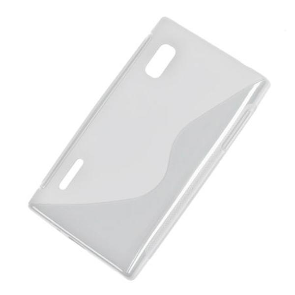 BACK COVER CASE LG L5 TRANSPARENT