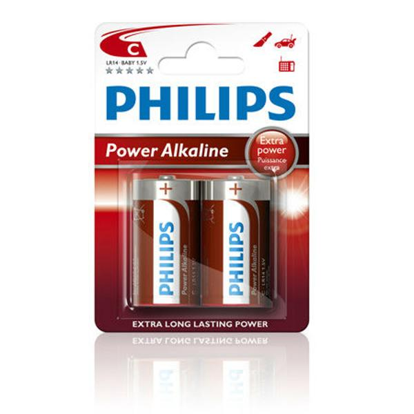 BATERIA PHILIPS LR14 POWERLIFE BLISTER 2BUC