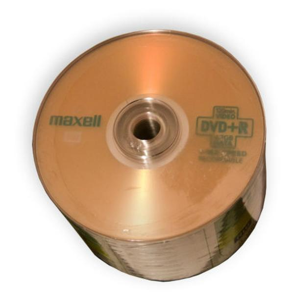 DVD+R MAXELL 4.7GB 16X SPINDLE 50