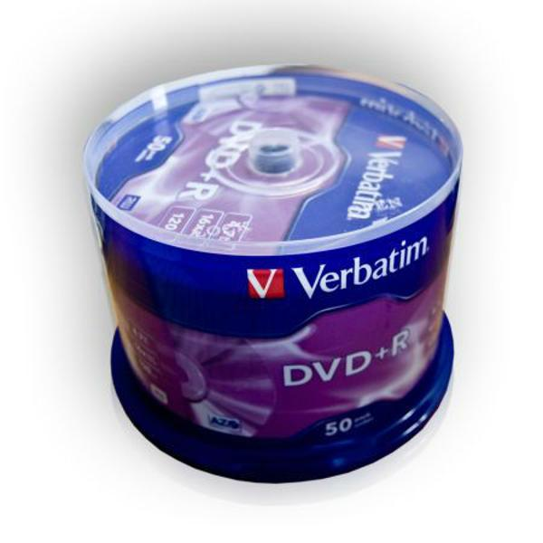 DVD+R X16 VERBATIM 4,7GB SET 50BUC