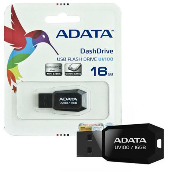 FLASH DRIVE 16GB UV100 ADATA