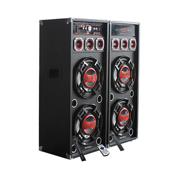 Set 2 boxe cu amplificare si MP3 Intex DJ420K