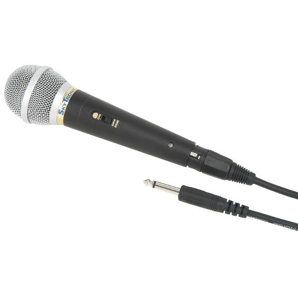 SkyTec	Microphone, dynamic, vocal