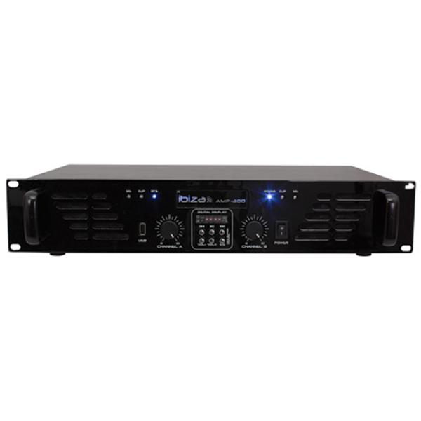 (AMP300USB-BT) AMPLIFICATOR 2X240W PLAYER USB SI BLUETOOTH