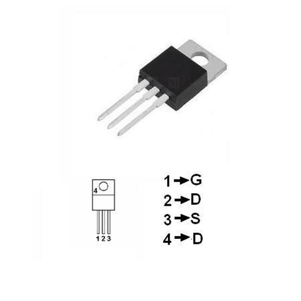 TRANZISTOR MOSFET CANAL N 8A 150W BUZ91