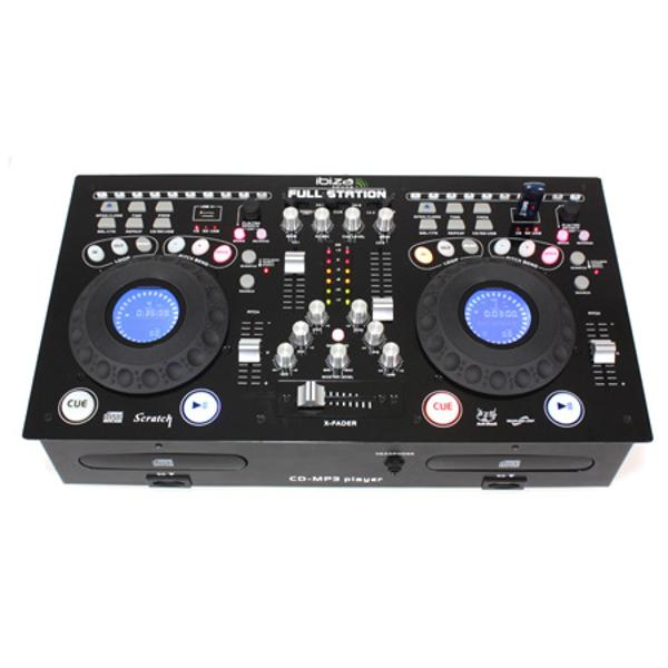 CONSOLA PROFESIONALA CU CD/USB/SD PLAYER DUAL