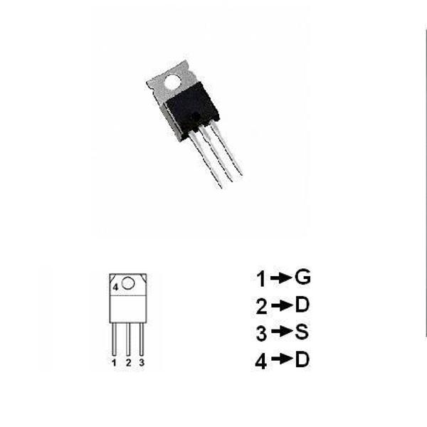 TRANZISTOR MOSFET CANAL N 500V 2.5A 50W