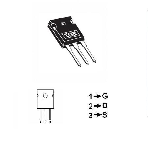 TRANZISTOR MOSFET CANAL P 100V 21A 180W