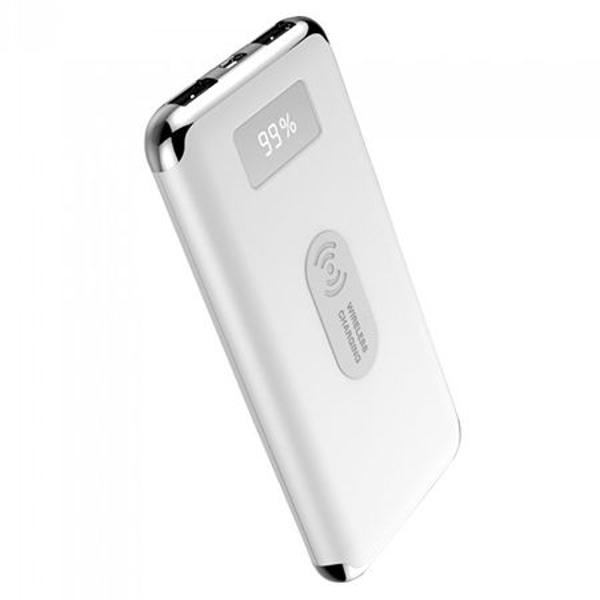 POWER BANK 10000MAH INCARCARE WIRELESS, ALB